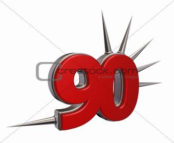 prickles number ninety
