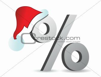 christmas discounts concept