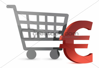euro shopping cart