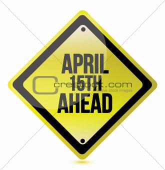 april 15th ahead