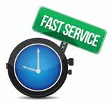 fast service concept