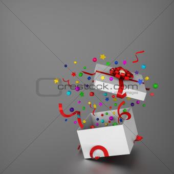 Amazing gift box