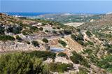 Mountain road on the island of Crete