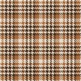 Seamless texture of brown wool fabric comprised by threads