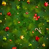 Christmas fir tree texture