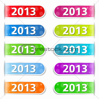 New Year 2013 Tabs