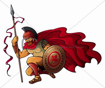 Greek warrior