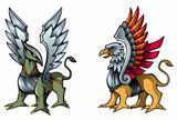 Fairy griffins