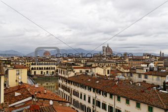 Landscape of Florence Italy