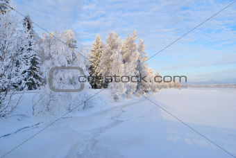 Imatra in  winter