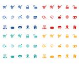 Set of e-commerce icons