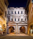 Porta Borsari by Night - Verona Italy - 1st century A.D.