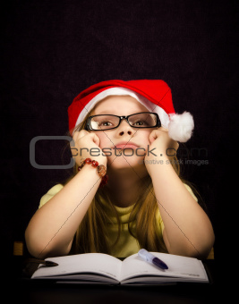 Thinking at a Letter to santa