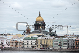 cityscape in Saint Petersburg