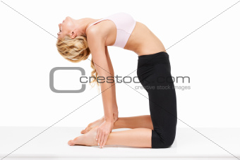 Stretching out all the kinks - Yoga
