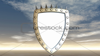 shield with prickles