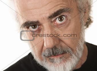 Serious Older Man
