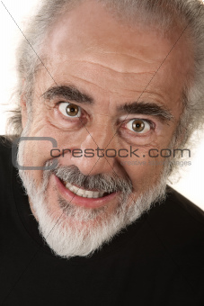 Man with Scary Smile