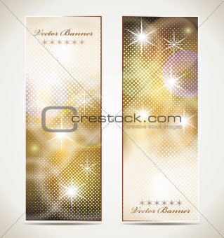 Greeting cards with stars and copy space.