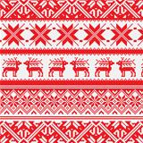 Norway Christmas pattern