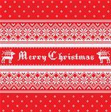 Norway Christmas pattern