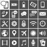 25 Vector Icons for mobile applications