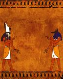 Anubis and Horus