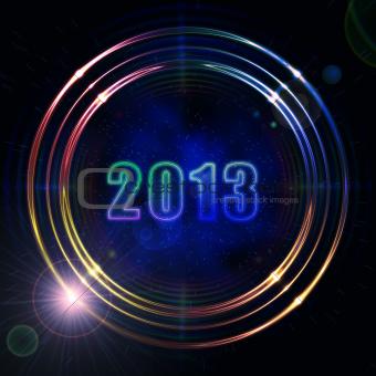 year 2013 in shining golden rings