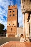 Torre Abbaziale di San Zeno - Verona Italy