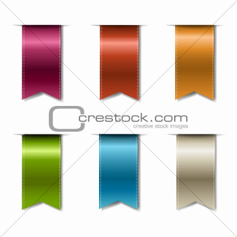 Color Realistic Ribbons