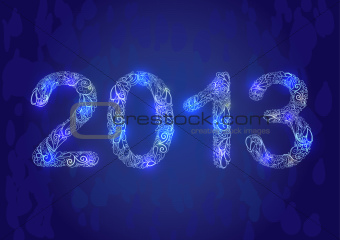 New Year 2013 Card