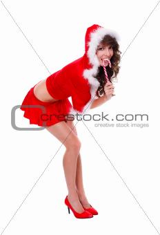 Santa helper-sweet as candy