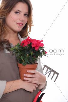 female, gardener