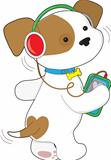 Cute Puppy Headphones