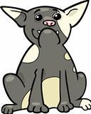 french bulldog cartoon illustration