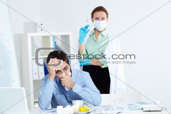 Measure against flu