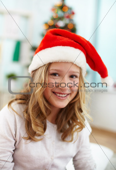 Santa girl