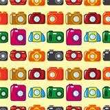 seamless camera pattern
