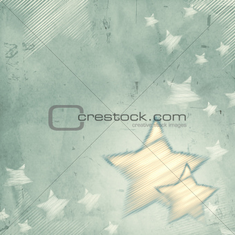 abstract grey background with stars