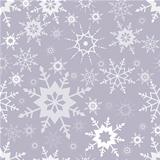Snowflakes seamless pattern