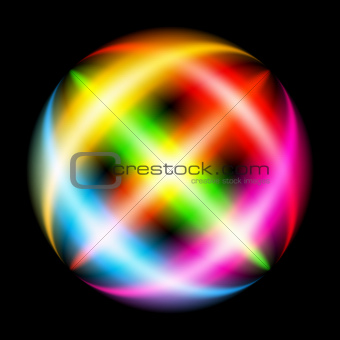Abstract Rainbow Ray