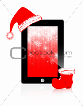Abstract Christmas Tablet