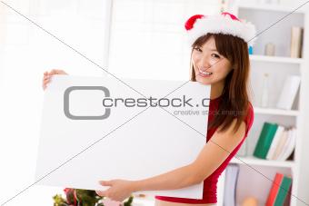Christmas billboard sign