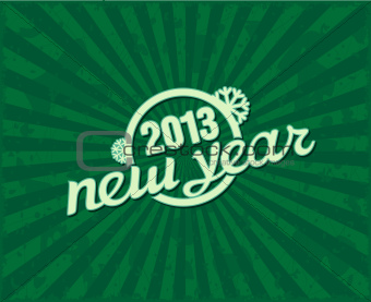 "Holiday retro text ""NEW YEAR"""