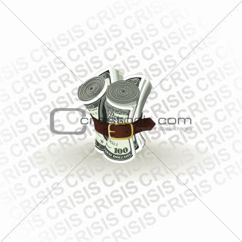 USA. Dollar Crisis