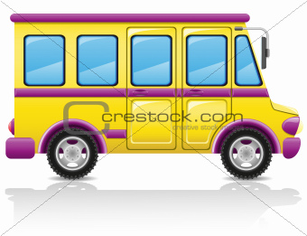 bus vector illustration