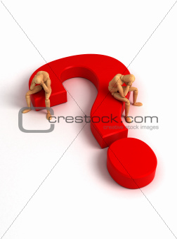 Question Mark (With clipping path)