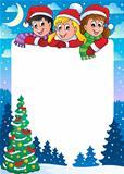Christmas topic frame 3