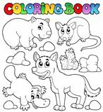 Coloring book Australian fauna 1