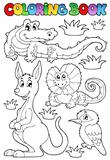 Coloring book Australian fauna 2